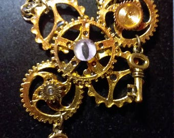 Dragon Eye Steampunk Necklace