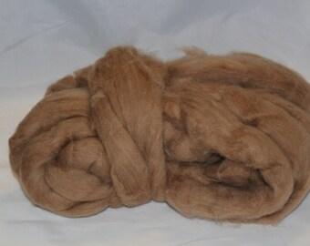 Wool Fiber Spinning - Camel Roving