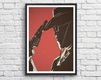 Art-Poster 50 x 70 cm - Django Unchained