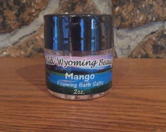 Mango Foaming Bath Salts