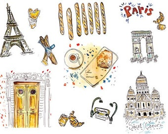Paris Travel Print