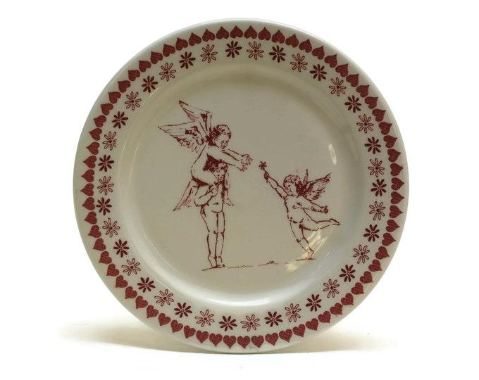 Vintage Cupid Ring Dish.