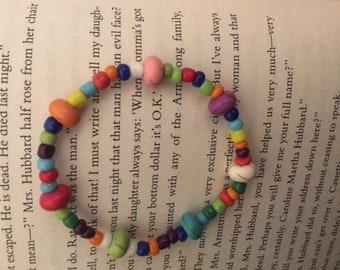 Fun rainbow bracelet