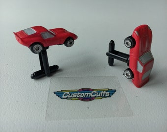 Ferrari 250 GTO - Vintage Micro Machine Car Cufflinks. Perfect fathers day / valentines / birthday / wedding or christmas gift