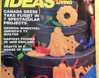 Creative Ideas for Living Magazine, 1984