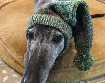 Pointu de chapeau avec Snood pour lévrier - Bright Green
