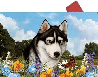 Siberian Husky Mailbox Cover