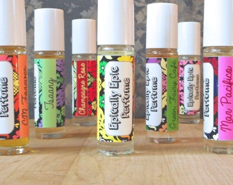 Custom Scented Roll On Perfume, Choose a scent or combine as many as you want