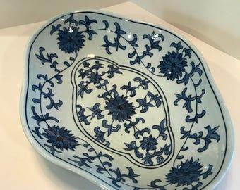 Vintage Ceramic Serving Dish/Bowl