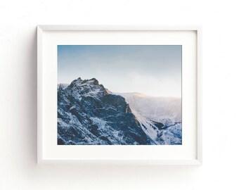 "landscape photography, landscape wall art, landscape art prints, large art, large wall art, mountain landscape, prints - ""Taking It All In"""