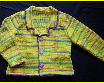 Multicolor Cardigan bent - 10 years