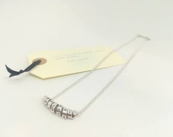 Silver Book-pendant