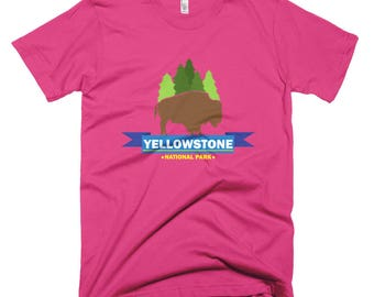 Yellowstone park 01 Short-Sleeve T-Shirt