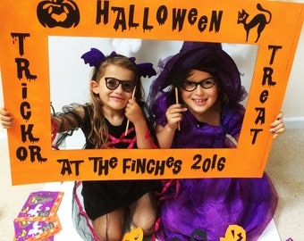 Halloween Photo Booth Props, Halloween Party Supplies, Photo Booth & Props
