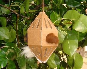 GreenBird Nesting Material Box