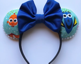 Nemo and Dory Mouse Ears