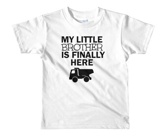 New Little Brother Labor and Delivery Short sleeve kids t-shirt