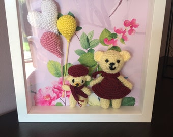 Amigurumi The brothers bears