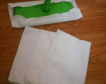 Resuable, Washable, Swiffer Cleaning Cloths