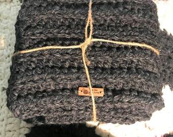 infinity warm chunky scarf