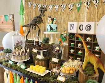 Dinosaur Birthday Dinosaur Birthday Decorations Dinosaur Party ... & Dinosaur birthday   Etsy