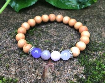 Lavender Ombre Diffuser Bracelet