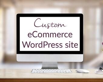 Custom eCommerce WordPress Site Design