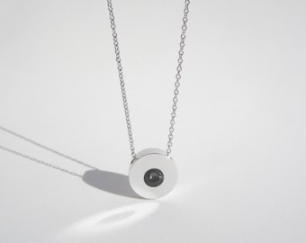 Modern Necklace – Contemporary Jewelry – Sphere Pendant