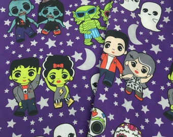 Monster Mash 1/2 yd