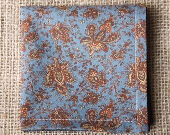 Pocket square, handkerchief, hankie, mens handkerchief, mens pocket square, cotton pocket square, pocket squares, mens hanky, gifts