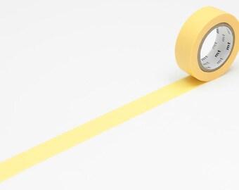 Washi Masking Tape · gelb 15mm