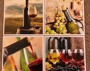 Wine Coaster Set
