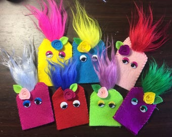 Colorful Finger Puppets!