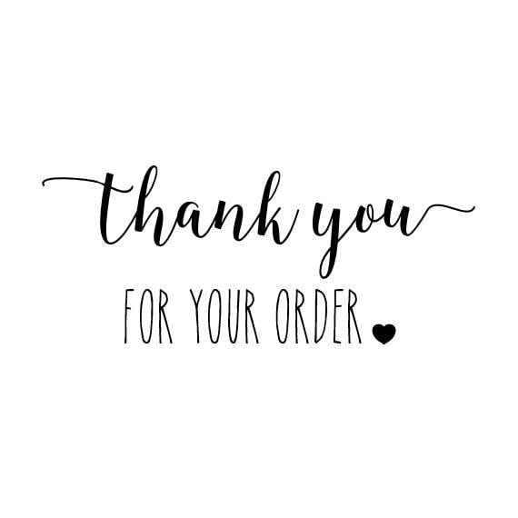 Thank You For Your Order >> Thank You For Your Order Stamp Envelope Stamp Packaging