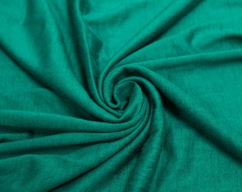 Seafoam Special Light-weight Rayon Spandex Jersey Knit Fabric - 160 GSM by the Yard - Style 13390