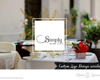 Custom Logo Design Vintage Logo rétro Logo Logo site Web Restaurant Logo Blog Logo Business Logo Boutique Branding Design Logo photographie