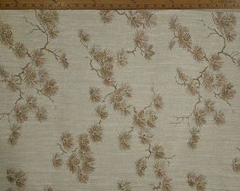 Vintage wallpaper asian themed wallpaper pine tree wallpaper. One, 1, 21 inch section.