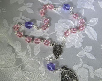 St. Ann~Rosary Chaplet,St of grandparents,homemakers,lost articles,mothers,pregnancy, St of seamstresses, find right Husband