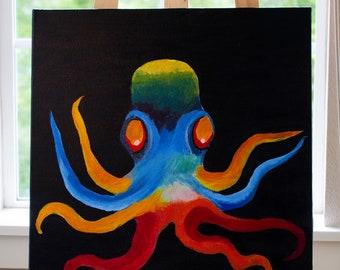 Painted Rainbow Octopus