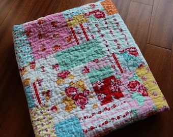 Milk Sugar and Flower Quilt