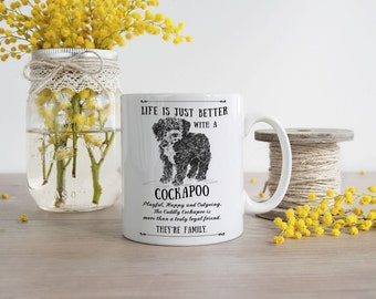 Cockapoo Mug ~ Perfect Gift can be personalised