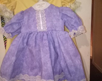 reborn baby doll dress size 10to12 inch