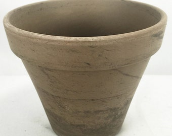 "5 - 4"" Basalt Clay Pots - Great for Plants and Crafts"