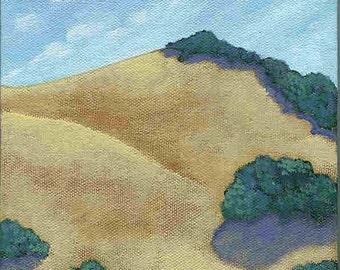 Valley no. 1 greeting card