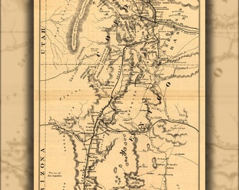 Poster, Many Sizes Available; Map Of Denver & Rio Grande Railroad Colorado 1873