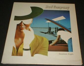 Very nice original BAD COMPANY Record Album Desolation Angels Swan Song SS 8506 1979