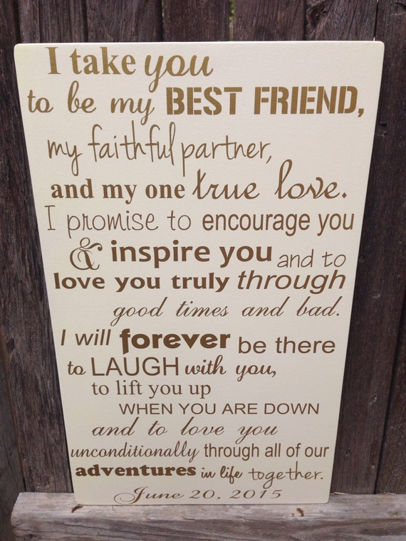 First anniversary gift for him wedding vows sign 1st junglespirit Image collections