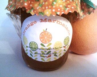 Arizona Orange Marmalade/ 4 or 8 Oz/ Organic/ Sweet/ MADE To ORDER