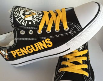 Pittsburgh Penguins  Womens Tennis Shoes