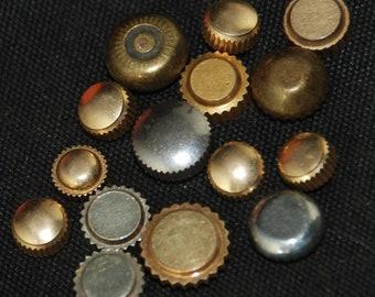 Destash Watch Parts crowns Assemblage Industrial Altered Art Steampunk Charms BG 68